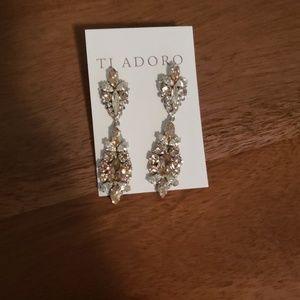 Dangle Ti Adoro Wedding Earrings